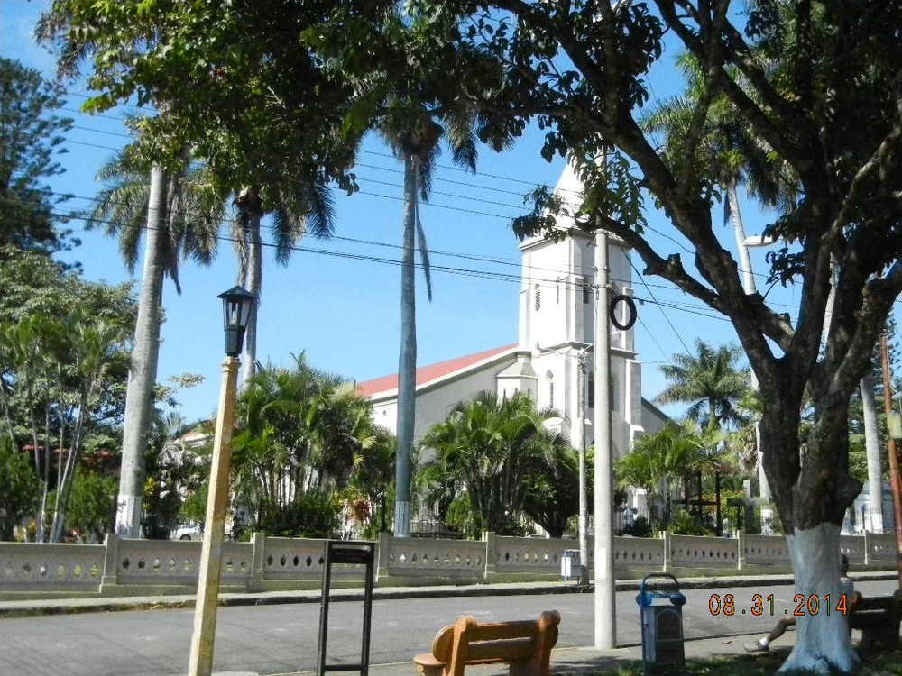 San Rafael Church on the town square