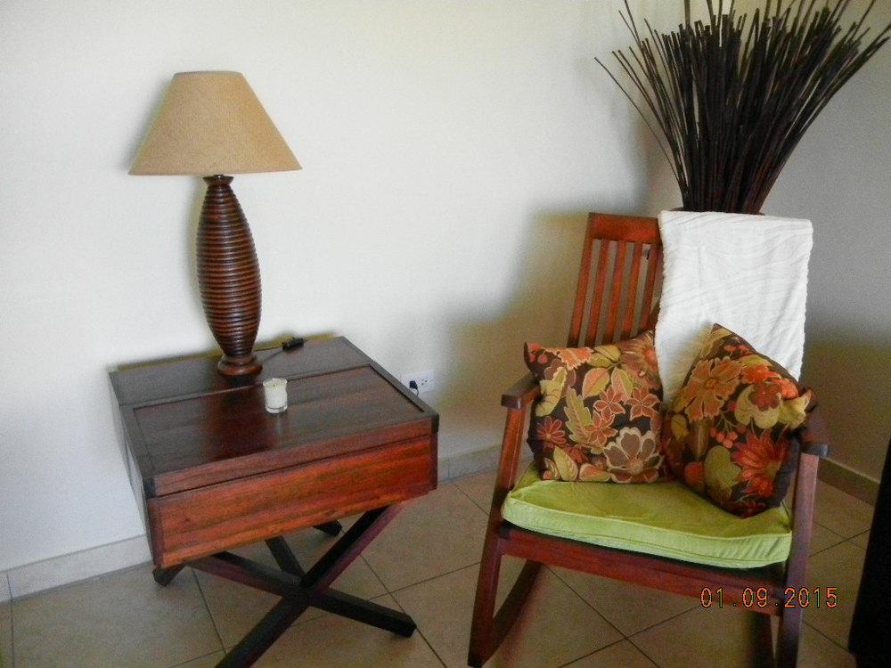 LM - Living room table & rocking chair.JPG