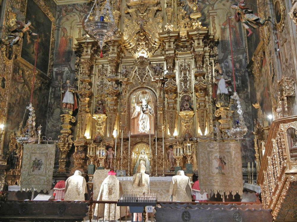 Granada - St John Basilica (23).JPG