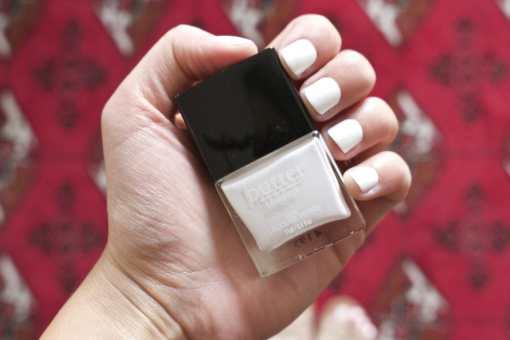 50 Shades of WHITE: Butter LONDON Non Toxic Nail Polish