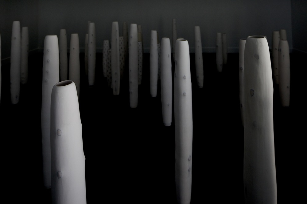 installation view of The Stillness