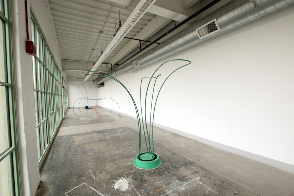 Untitled (Spinning Green)