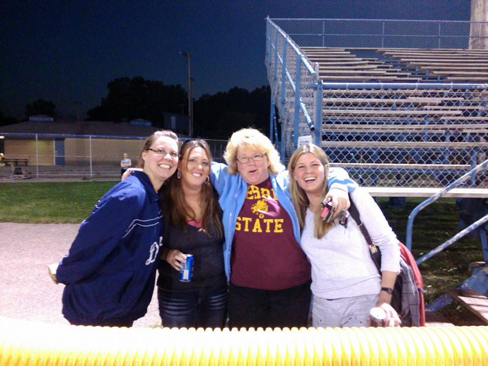 Team Transition fans were the loudest on Monday night.