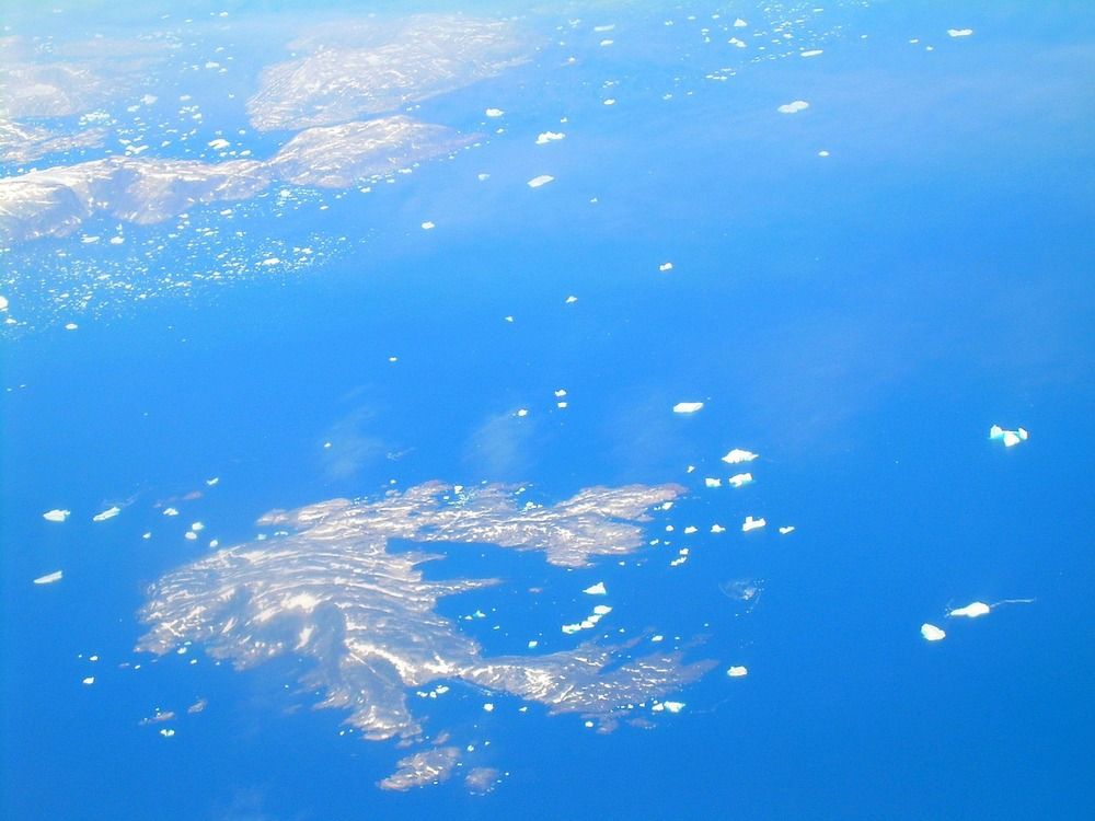 Islands & Icebergs Off Southern Greenland, July 2007