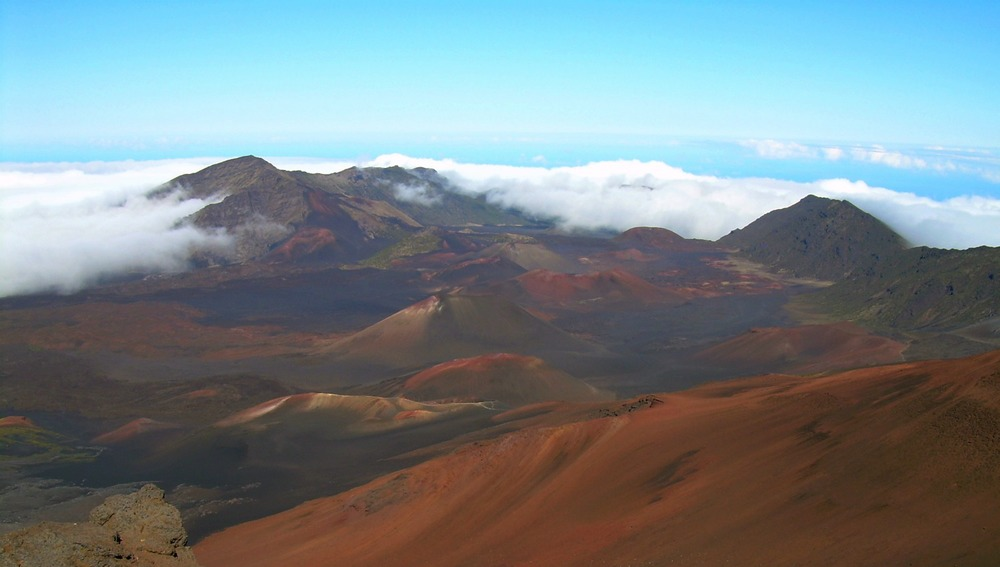 Haleakala Volcano Crater, Maui, September 2011