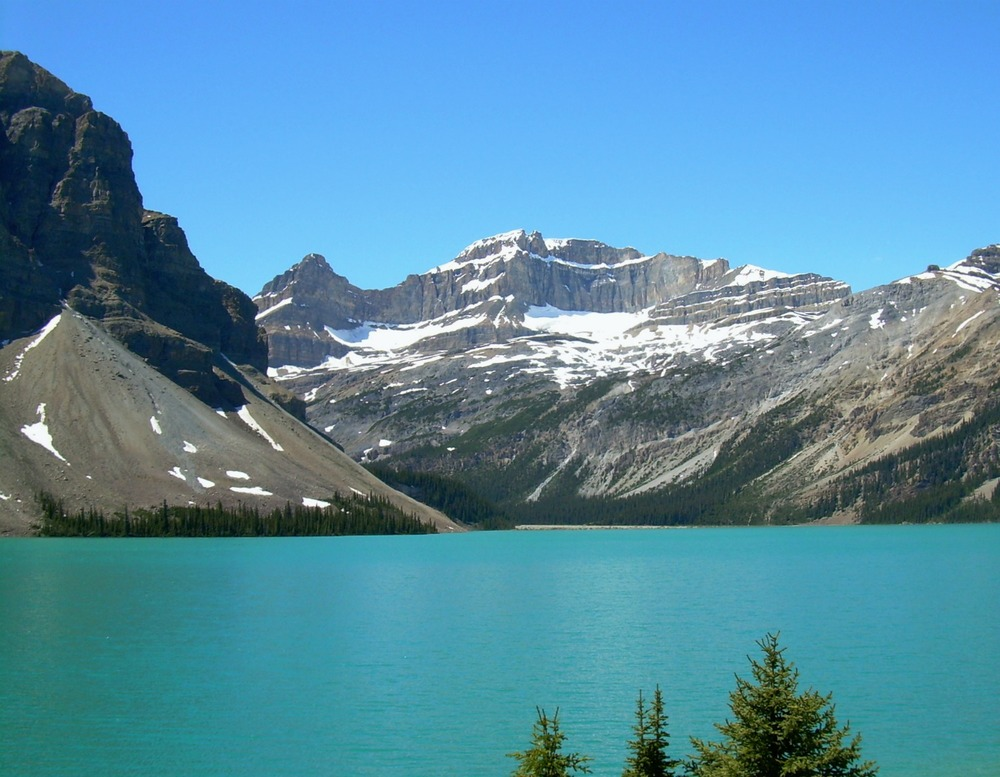 Bow Lake, Banff National Park, Alberta, Canada, July 2011