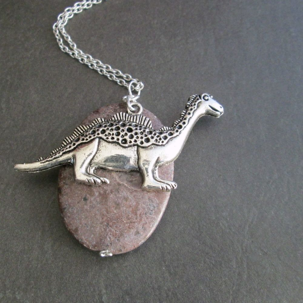 jewelry apatosaurus products pendant of dinosaur irony necklace friends llc