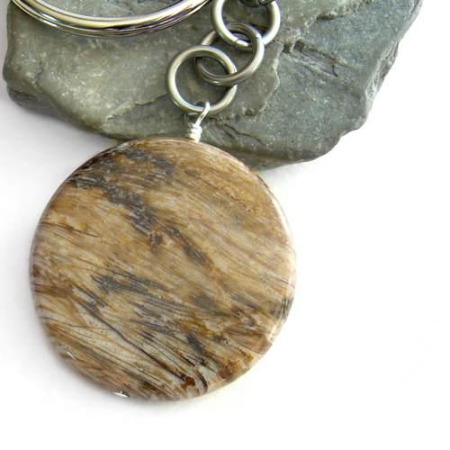 Fossilized wood key chain petrified tree stone cindylouwho2 fossilized wood key chain petrified tree stone aloadofball Gallery