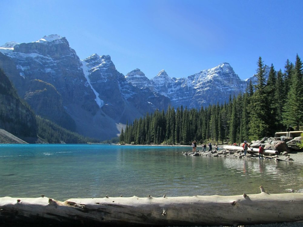Moraine Lake, Banff National Park, summer 2016