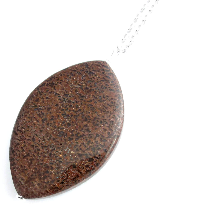Chalcedony Stone Necklace