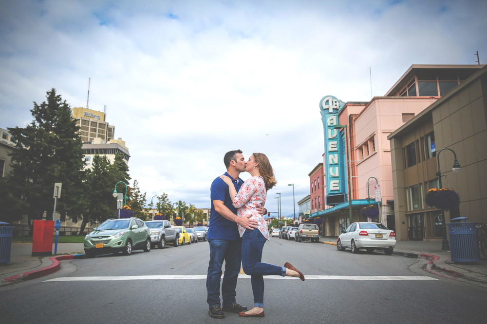 This Downtown Engagement was so much fun!