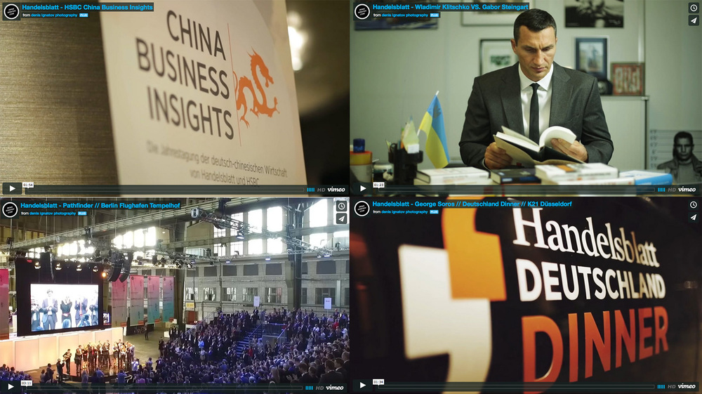 """In the last two years my team and I traveled across Germany for the newspaper """"Handelsblatt"""". We create some new creative video stuff. Check the videos and enjoy. View full Story →"""