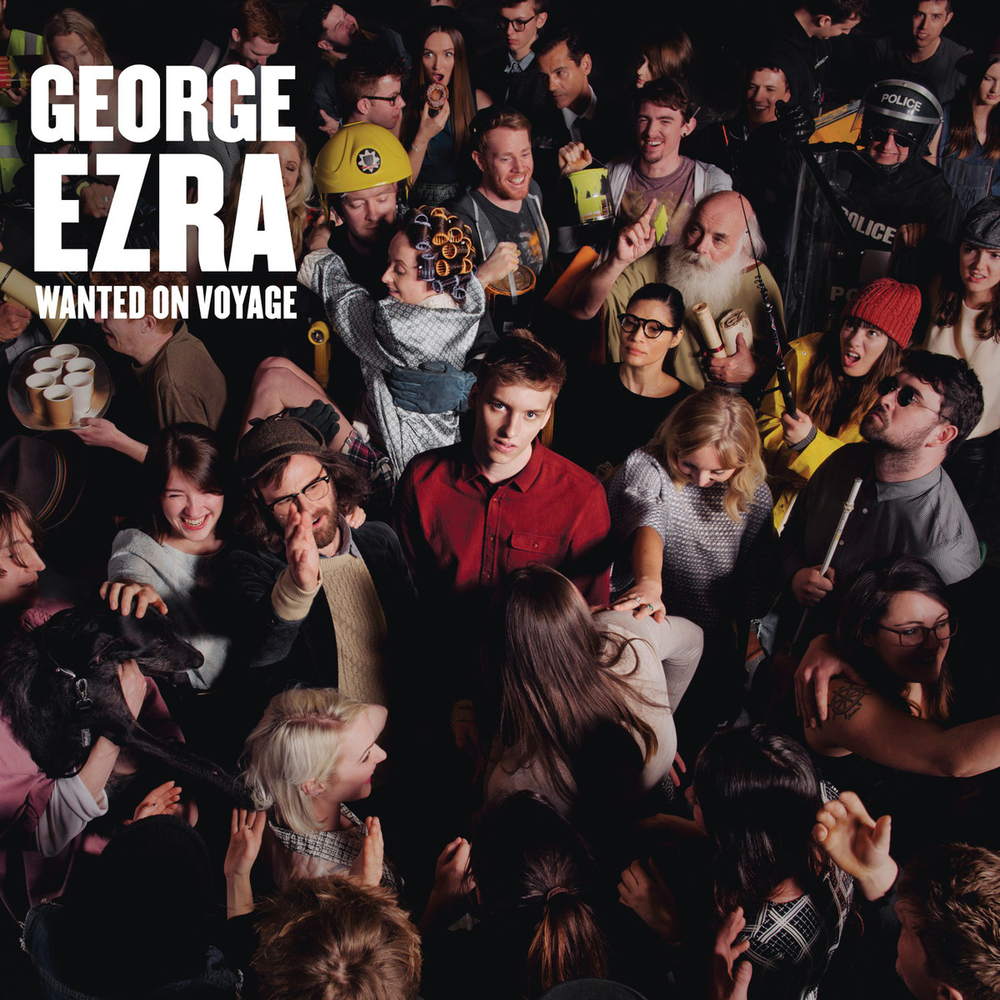 GEORGE EZRA - ALBUM COVER