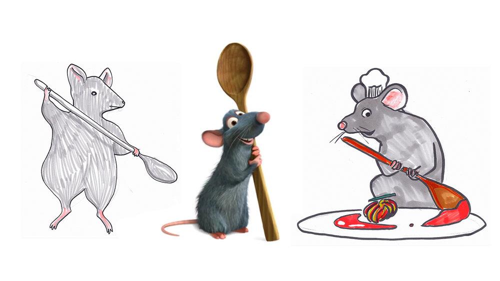 "REMY    Pixar's ""Ratatouille"", 2007."