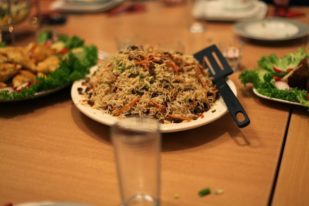 Qbli Palaw Afghaanse traditioneel gerecht