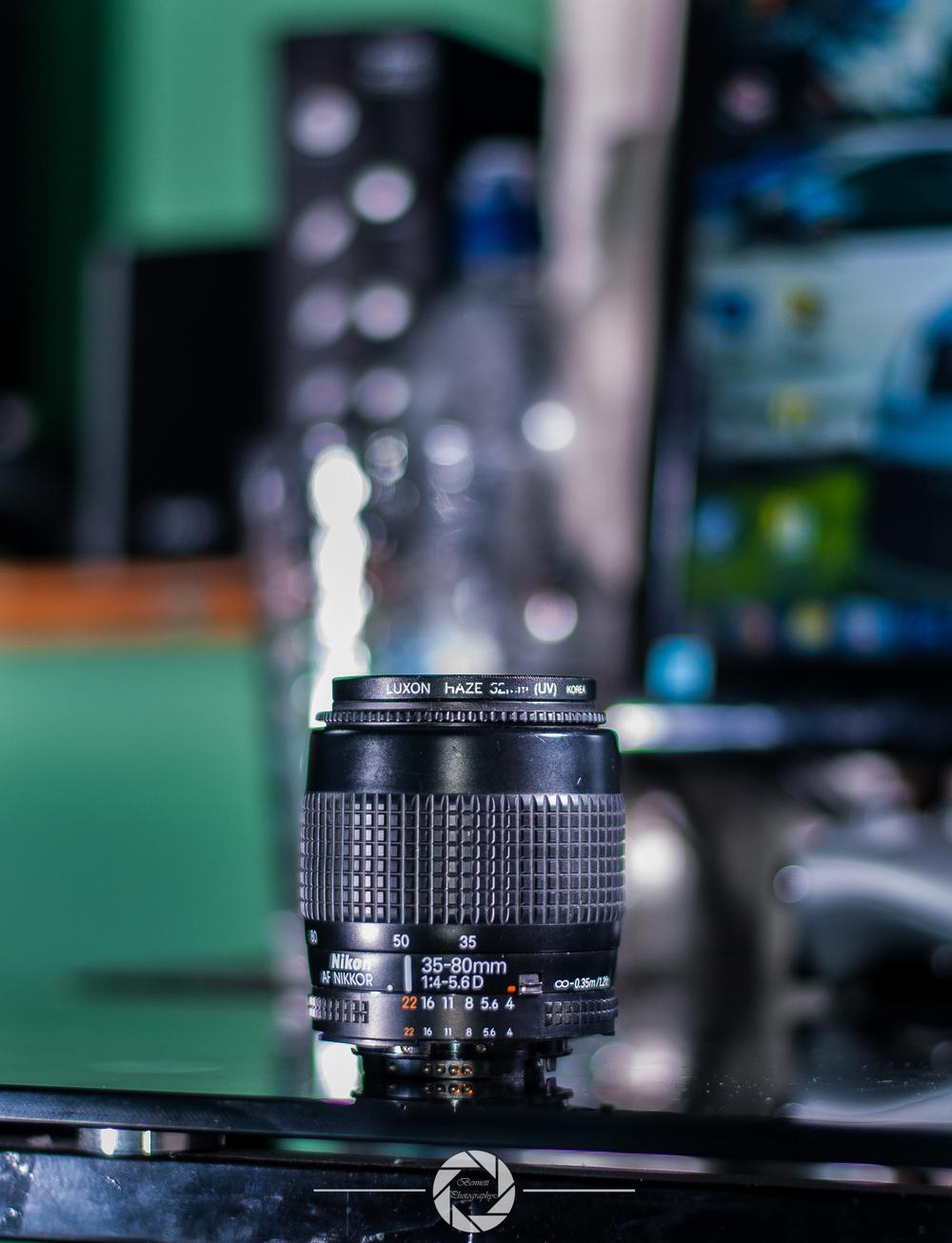 35-80mm Kit lens