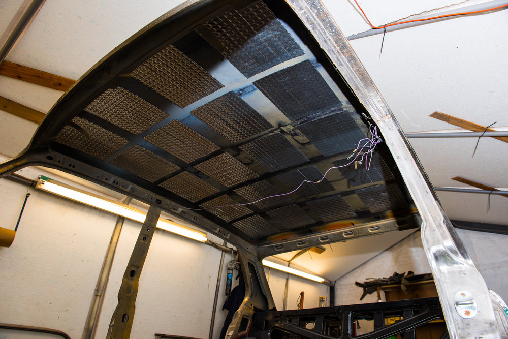 Sound deadening gives the cabin a premium feel and stops those pesky rattles