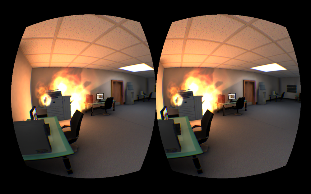 Office VR prototype