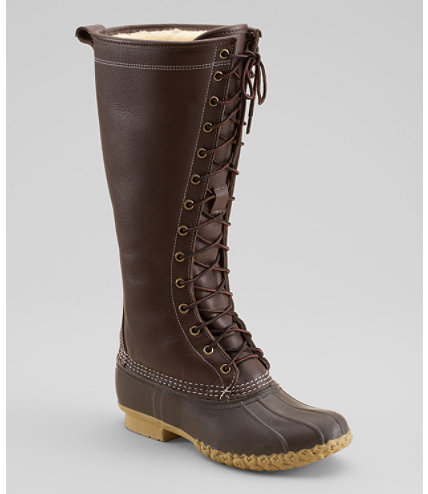 These may be my favorites, they're a little intense, but there is no question about warmth. I think these are great especially if you're up north and have to dredge through drifts of snow.