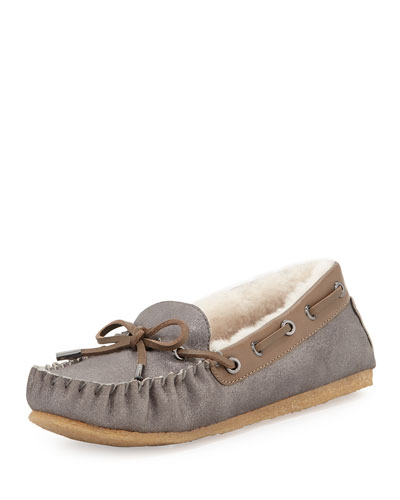 I saw these Tory Burch moccasins in gold! I saw them at The Greenbrier, and got so close to buying them, but passed...kind of wish I would have bit the bullet.
