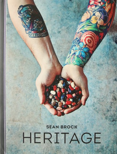 Charleston's own chef, Sean Brock, just came out with another book. It's a gorgeous coffee table book, and he's the chef of McCrady's, where we had our rehearsal dinner.