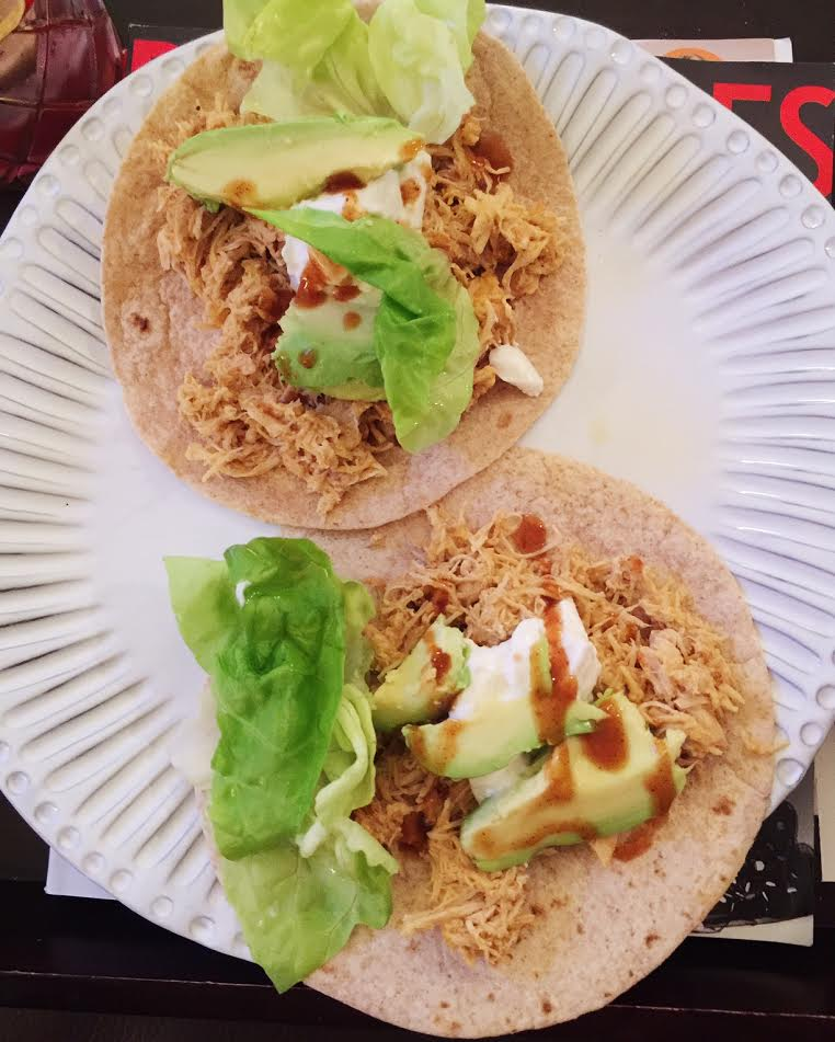 I could eat avocado all day every day, it's one of my favorite foods. It gives these tacos great flavor as well.