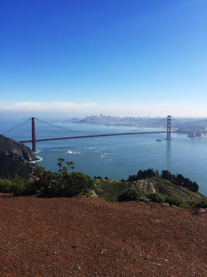 The view from Marin Headlands.