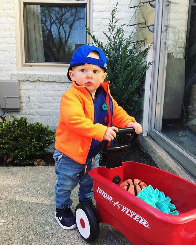This kid 😎 #Graham #babynikes💕 #1goingon15