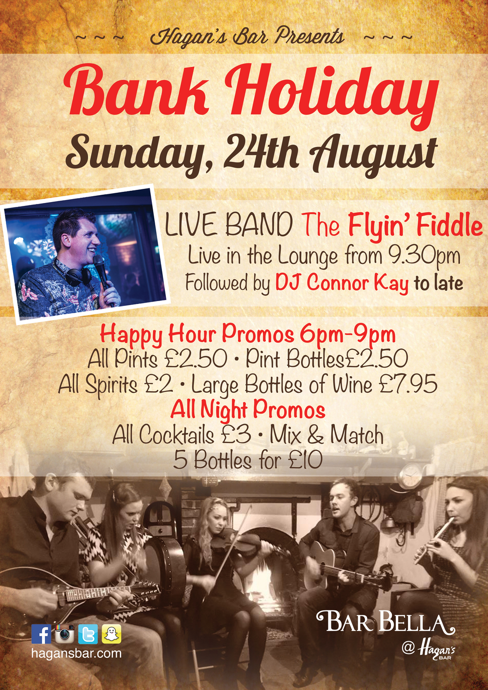 This Bank Holiday Sunday, 24th August, 2014
