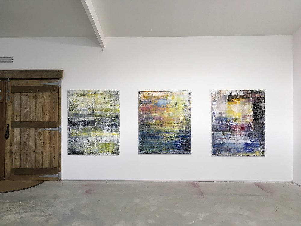 Jonathan S Hooper's exhibition at Hay Studio: TRANSITION