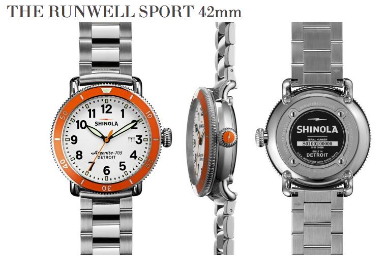 Shinola Runwell Sport 42mm