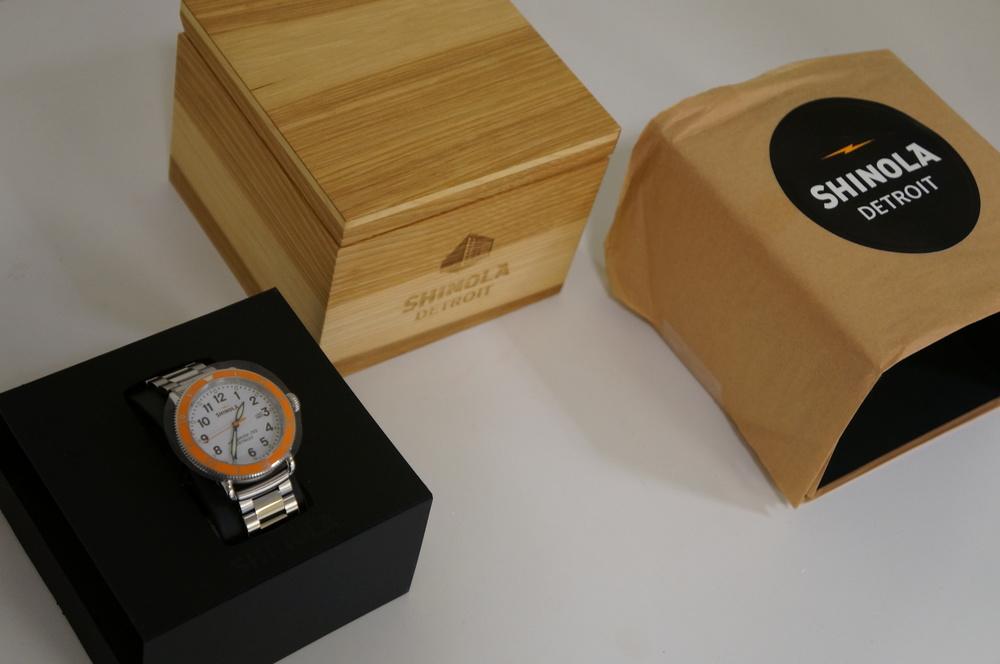 Shinola Runwell Sport 42mm and box