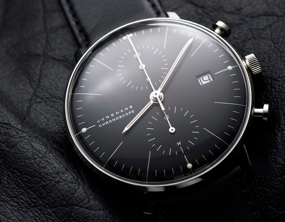 Max Bill Chronoscope by Junghans