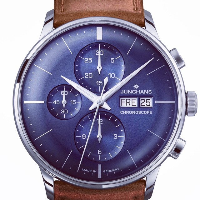Look at this beautiful new piece from Junghans. The dial is magnificent. #watches #watch #watchesofinstagram #watchreview #german #craftmanship #affordable #ablogtowatch #hodinkee