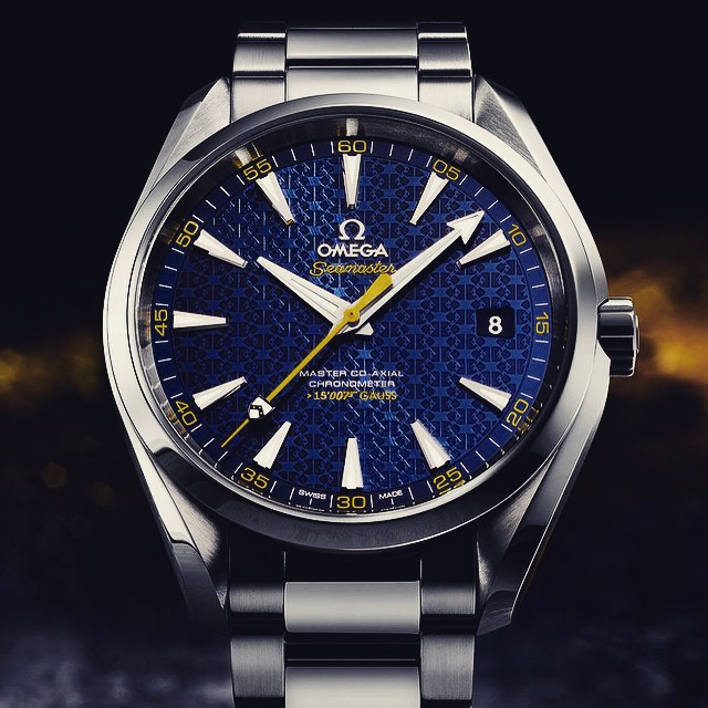 A little out of my price range but a great piece nonetheless. The new Seamaster Aqua Terra for our favorite agent - James Bond. #watches #watch #watchcrush #watchreview #watchesofinstagram #luxury #bond #007 #omega #rolex #newrelease #ablogtowatch #hodinkee