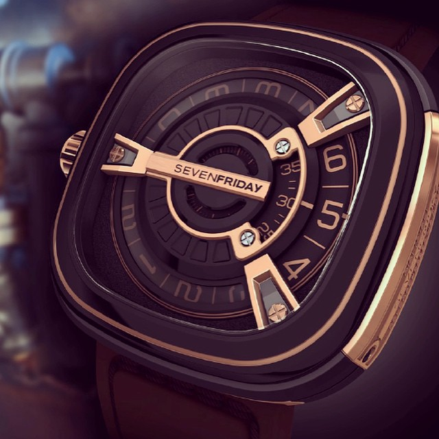 Check out the latest statement piece from SEVENFRIDAY. The M2-2 is certainly an eye-catcher. #watch #watches #watchcrush #watchreview #sevenfriday #watchesofinstagram #design #affordable #ablogtowatch #horology #hodinkee #ivytimewatches