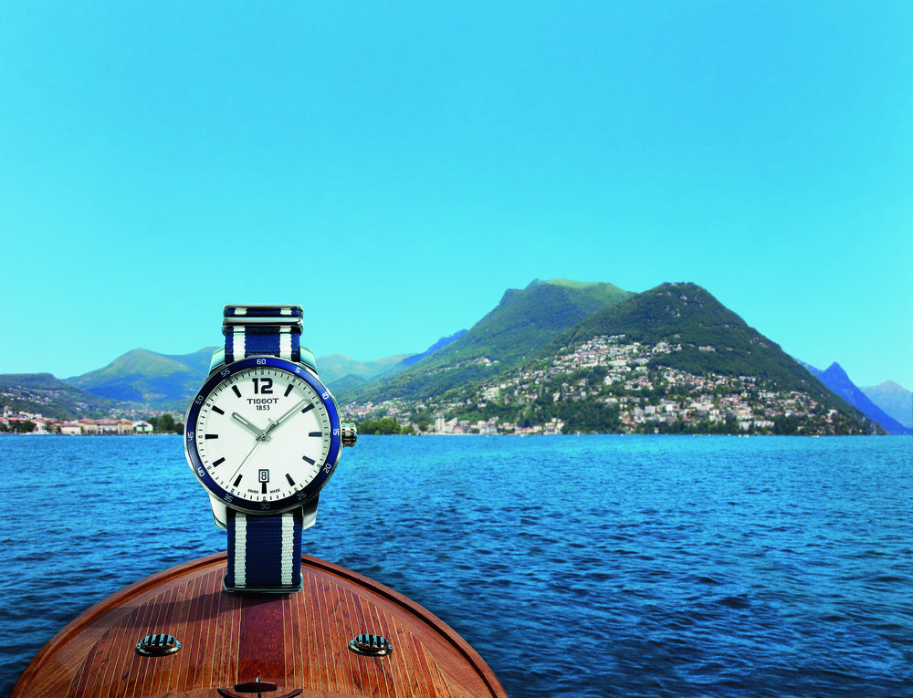 Quickster Lugano on Lake Lugano