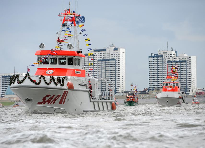 German DGzRS Rescue Boats