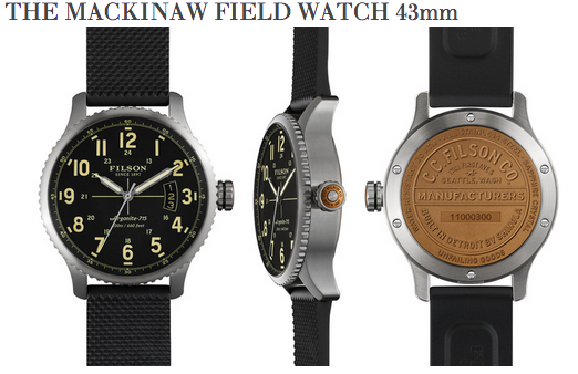The Filson Mackinaw Field
