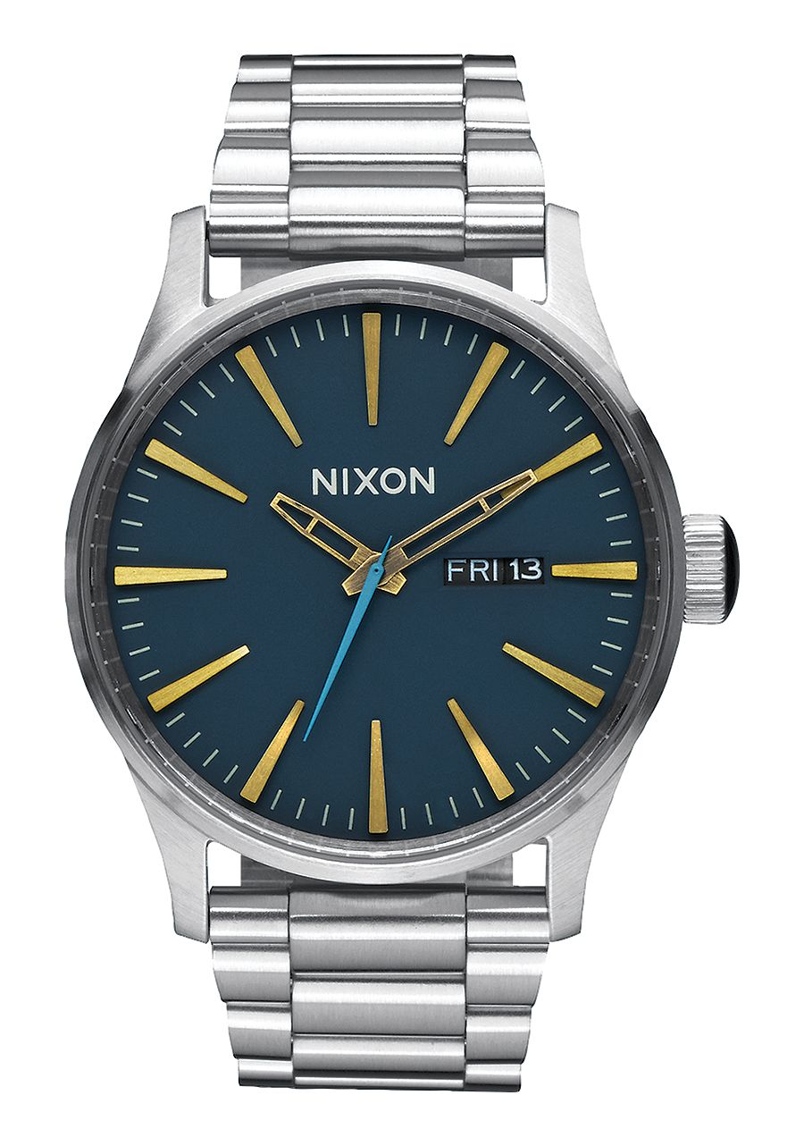 Nixon Sentry SS Navy/Brass