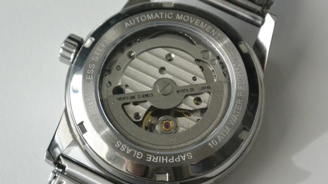 The View Caseback