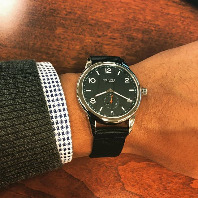 New watch alert #Nomos #clubmodel