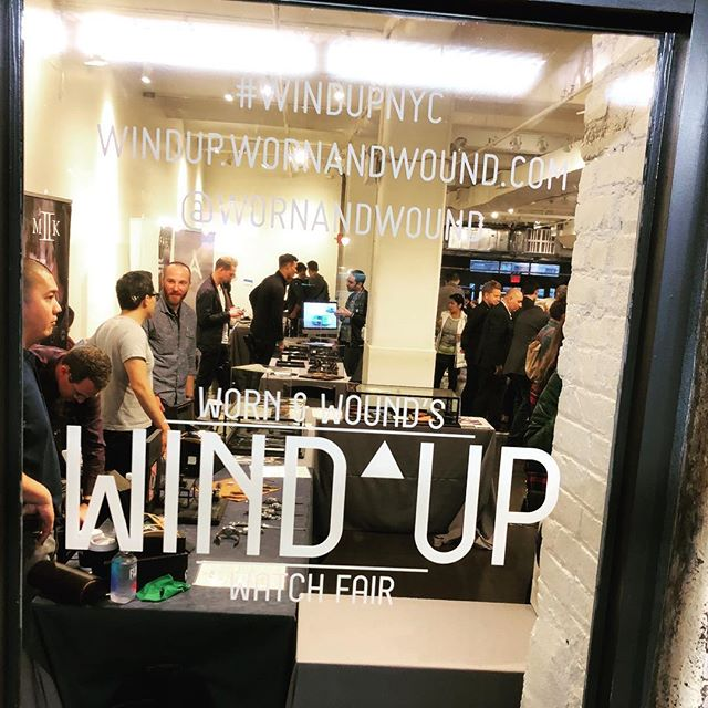 Last day to see awesome brands at the Wind Up!  #wornandwound #windupnyc