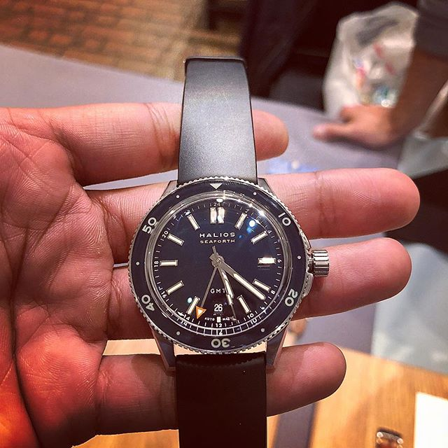 Can you tell that I had fun at the Wind Up NYC? A great piece from our friends @halioswatches  #windupnyc #halios