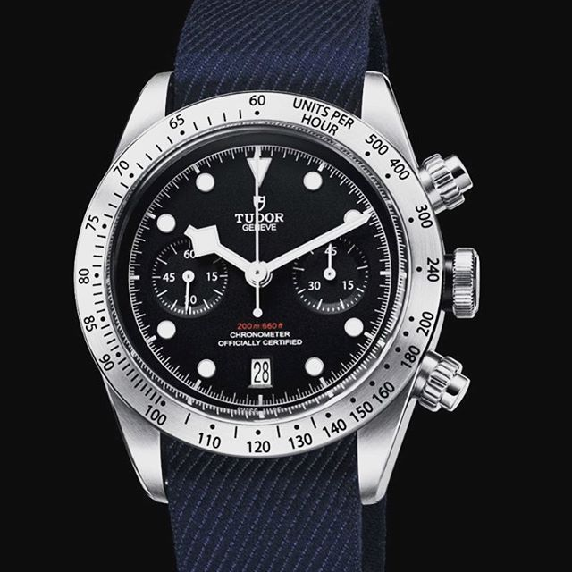 Is there a more beautiful chronograph for under $5k? Not sure, but this Tudor is a stunner.