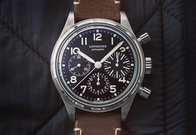 Watch of the Week: Longines Avigation Bigeye  What a beautiful new release from Longines! #watchoftheweek