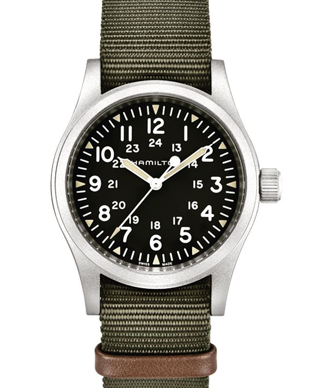 Watch of the Week by a mile! The new Hamilton Field Mechanical makes a perfect daily wear at 38mm.