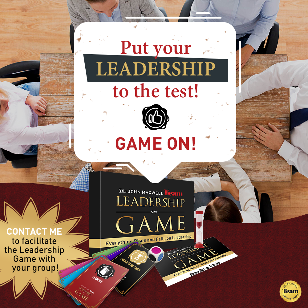 Let's Play The Leadership Game!
