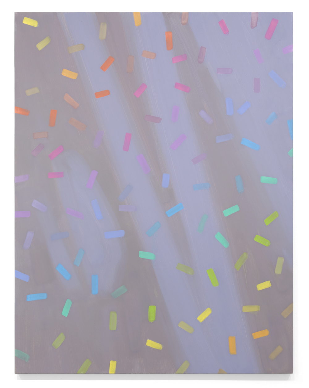 Silver Sleet,  2014 Oil on canvas 60 x 46 inches