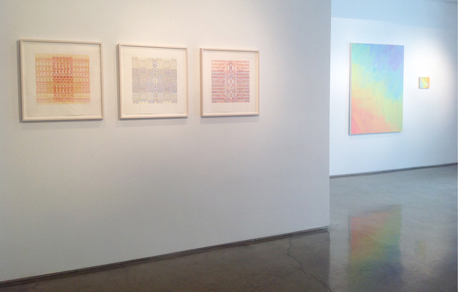 SUMMER SHOW 2015  Nancy Margolis Gallery, New York, NY July 7 - August 2, 2015  Left to right: Cristina Camacho, Aliza Morell